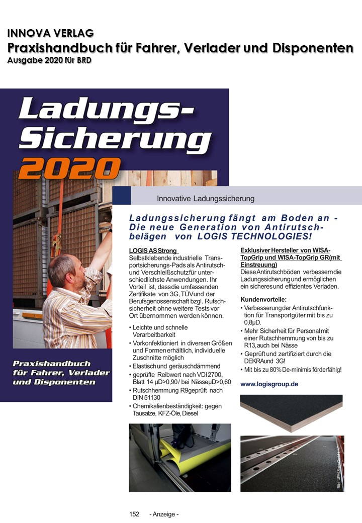 Handbuch Ladungssicherung 2020