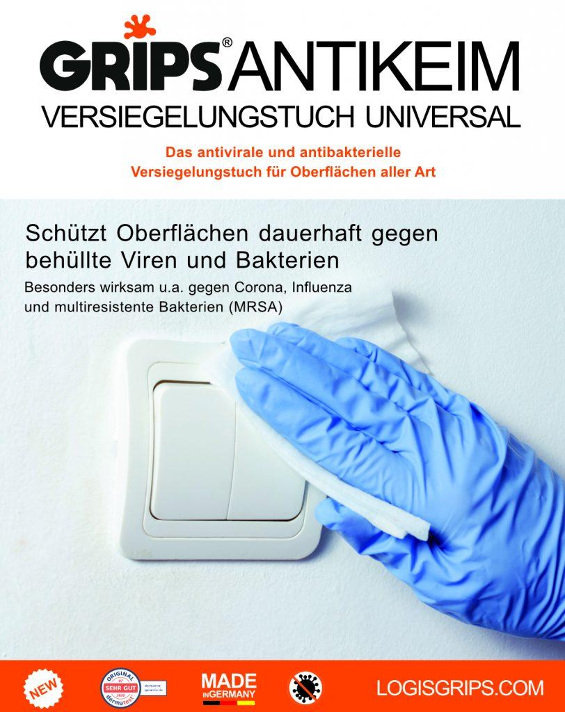 Grips Antikeimversiegelungstuch Universal