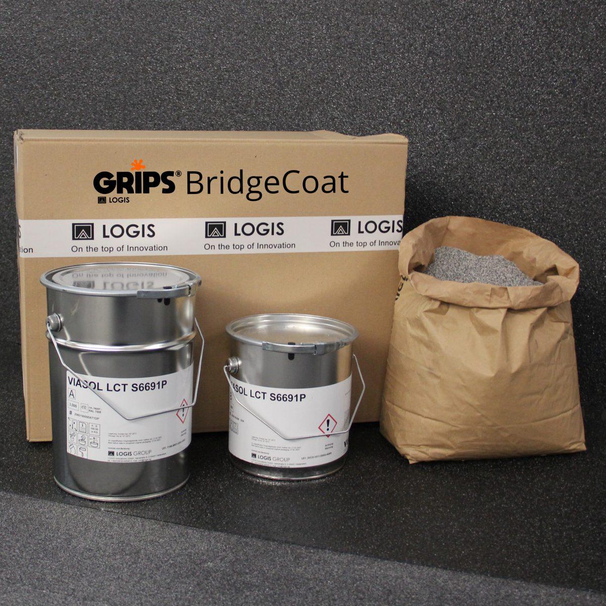 logis grips bridge coat